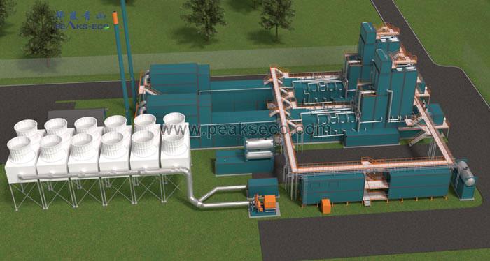 模块化模焚烧发电系统