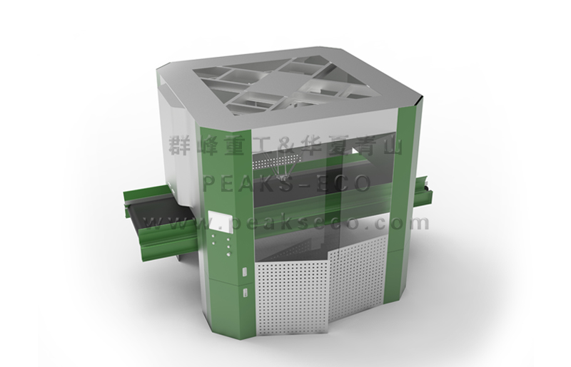 群峰重工PEAKS-AI分选机器人 助力环境保护UPUP!